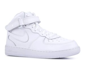 "Nike Air Force 1 Mid 07 ""White on White"""