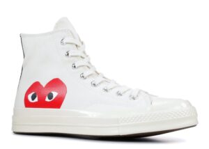"Converse Chuck 70 CDG Play "" Comme des Garcons Play / Half Heart / Milk"""