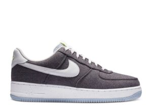 "Nike Air Force 1 Recycled Canvas ""Iron Grey"""