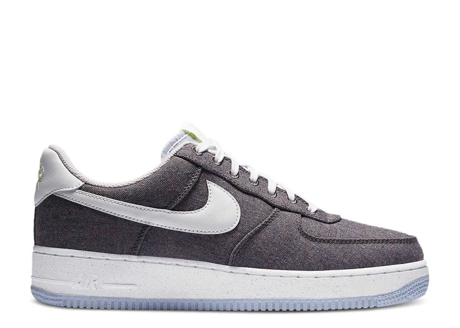 """Nike Air Force 1 Recycled Canvas """"Iron Grey"""""""